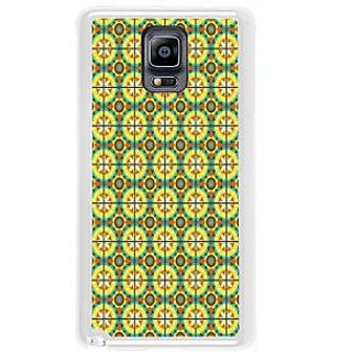 ifasho Animated Pattern design colorful flower in royal style with lines Back Case Cover for Samsung Galaxy Note 3
