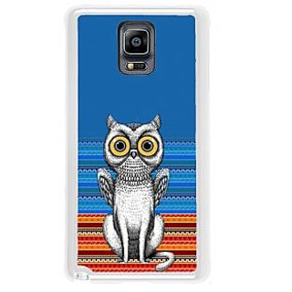 ifasho ModernBird and Owl Pattern Back Case Cover for Samsung Galaxy Note 3