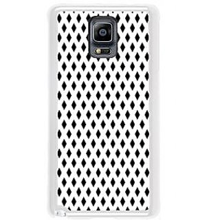 ifasho chevron style and Checks In black and white Pattern Back Case Cover for Samsung Galaxy Note 3