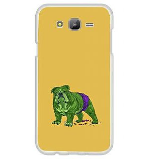 ifasho Animated Design Dog Back Case Cover for Samsung Galaxy J7