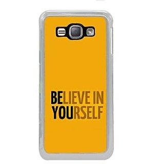 ifasho Believe in yourself Back Case Cover for Samsung Galaxy J1 (2016 Edition)