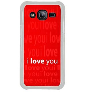 ifasho Love Quotes I love you Back Case Cover for Samsung Galaxy J2
