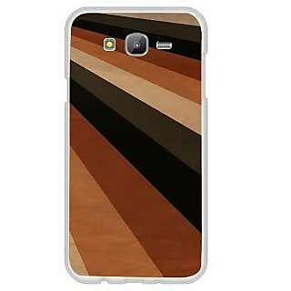 ifasho Colour Full Square Pattern Back Case Cover for Samsung Galaxy J7