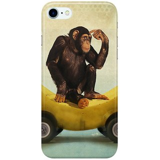 Dreambolic A BANANA MONKEY Back Cover for Apple iPhone 7