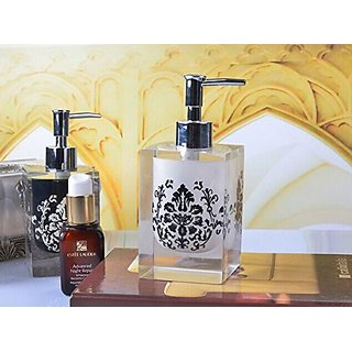 LifeGrow™ Easy Press Resin Soap Dispenser Soap Pump-Decorative Resin Soap Dispenser, Bathroom Accessories Beautifu