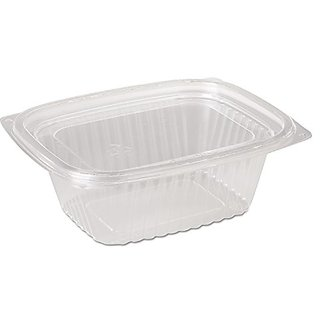 Pactiv PAC 0CI86012 Showcase Deli Containers and Lids, 12 oz., Clear (Pack of 252)