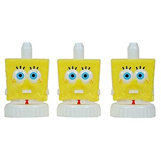 good2grow spill-proof bottle toppers 3-pack, Spongebob Squarepants