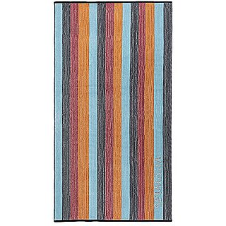 Luxor Linens Soft & Durable Spiaggia Ombre 100% Combed Organic Combed Cotton Oversized Beach Towel - Perfect Luxury Beac