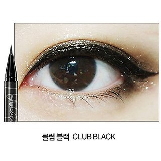 Clio Twist Turn Waterproof Liner, Club Black, 0.0338 Ounce