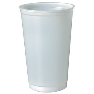 SOLO N20 Polystyrene Cold Cup, 20 oz. Capacity, Translucent (Case of 1,000)