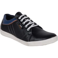 Admire Men Blue Lace-up Casual Shoes