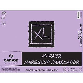 Canson C400023339 XL 19 x 24 Glue Bound Marker Pad 50-Sheet