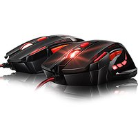 Computer Game Mouse,Gaosa Ergonomic 5500DPI USB Gaming Mouse 7 Button LED Optical Wired Pro Gaming Mice