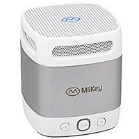MiiBox Mini Grey Bluetooth ,NFC Speaker With Microphone,Built-in Music Player & HD Audio