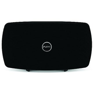 Pure Jongo T6 Wireless Speaker with Wi-Fi and Bluetooth, Black