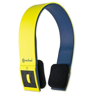 Syba CL-AUD23038 Sport Band Style Stereo Bluetooth v2.1 Headset with EDR Support - Retail Packaging - Yellow