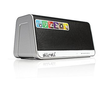 aLLreLi Ultra-Portable Bluetooth 4.0 Speaker w/ Touchpad, 2600mAh External Battery (13 Hour Playtime), Aux, Micro SD MP3