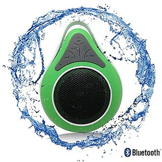 Bluetooth Waterproof Shower Speaker Phone with Mic. Best Portable Wireless Music Receiver for Pool, Shower and Outdoor H