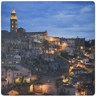 3dRose Duomo (cathedral), Sassi, Matera, Basilicata, Italy Mouse Pad, 8