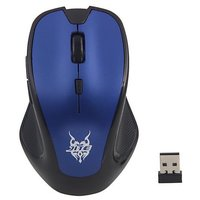 New 3232 2.4GHz Wireless Optical Mouse 5 Buttons With Mini Reciver For Game Computer PC Laptop Notebook Blue