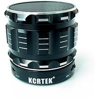 Kcrtek Portable Bluetooth Wireless Metal Mini Speaker With , Built In Hands Free Microphone And Rechargable Battery Supp