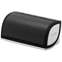 NYNE Multimedia Inc Mini Portable Bluetooth Speaker (Black/Silver)