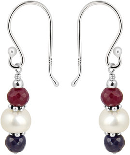 Glam-Up with Pearlz Ocean 925 Silver Earrings.