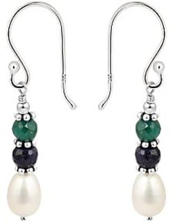 925 Silver based Fresh Water Pearl Earrings an Forever Symbol of Pearlz Ocean.