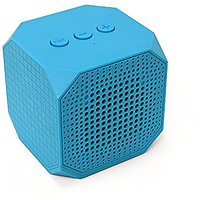 MQbix MQBK3010BLU MUSICUBE Wireless Portable Bluetooth Speaker With Built-in Mic And Rechargeable Battery For All Blueto