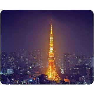 AD Publishing Japanese Tower Peel and Stick Mouse Pad