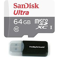 64GB Memory Card For GoPro Hero 4 Black/Silver/Session - Sandisk Ultra 64G Micro SDXC Micro SD UHS-1 TF Class 10 For Her