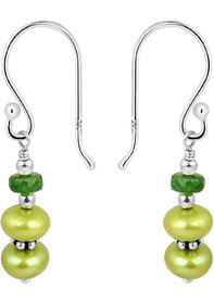 Pearlz Ocean 925 Silver Fresh Water Pearl Earrings.