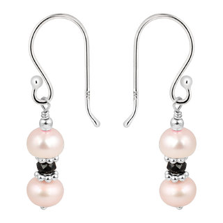 925 Silver Pink Pearl Earring from Pearlz Ocean specially for women.