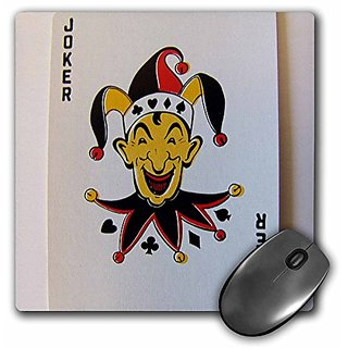 3dRose LLC 8 x 8 x 0.25 Inches Mouse Pad, The Joker (mp_16853_1)