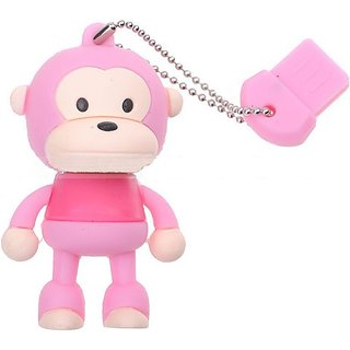 Microware 16GB Monkey  Shape Designer Fancy Pendrive