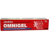 Omni Gel (fast Pain Relieving Ointment) By Cipla (Set Of 10 PCs 30 Gram)