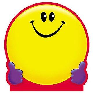 Trend Enterprises Smiley Face Note Pad, 5