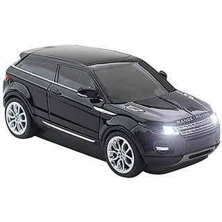 Click Car Mouse Bundle Kit of Range Rover Evoque Wireless Optical Mouse and 4GB USB 2.0 Stick, Black (CCB-RANGEROVER-BLA