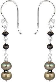 Beautiful 925 Silver  Fresh Water Pearl Earrings by Pearlz Ocean.