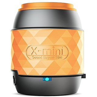 X-mini WE micro portable NFC Bluetooth capsule speaker, Orange, XAM17-GM-OR