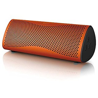 KEF Muo Wireless Bluetooth Speaker, Sunset Orange