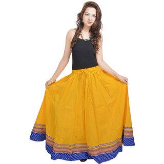 Shree Fashion Art Yellow Designer Skirt