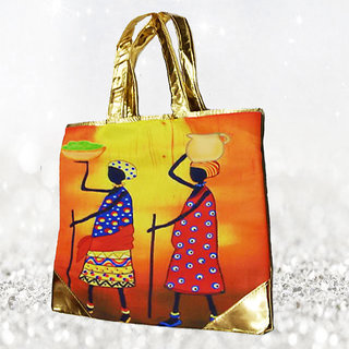Digital Printed Ethnic Handbags - UPHB00005