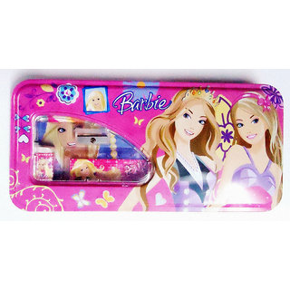 Barbie Pencil Box- (Metal)