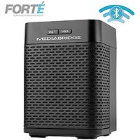 Portable Bluetooth Speaker With Powered Rear-Firing Subwoofer - Wireless Speaker With Rechargeable Battery - Forte By Me