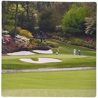 3dRose LLC 8 X 8 X 0.25 Inches Mouse Pad, Augustas Amen Corner Golf Course (mp_48684_1)