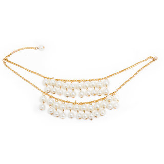The Bling Stores Multicolor Alloy Non Plated Necklace Sets For Women