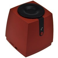 Baxia Square Stereo Bluetooth V2.1 Speaker, Portable Wireless Stereo Speaker System, Rechargeable Li-ion Battery,built-i