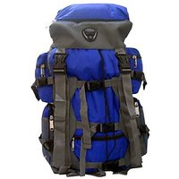 Donex Waterproof Big size High quality 43 litre Rucksack Blue and Grey- RSC00853