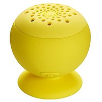 MixBin Wireless Bluetooth Speaker With Suction Cup (Yellow)